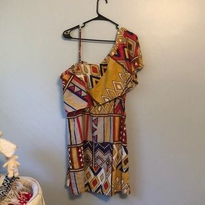 indulge Dresses - Abstract print dress